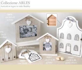 "Set 4 Sottobicchieri ""Arles"" Legno (EL8453)"