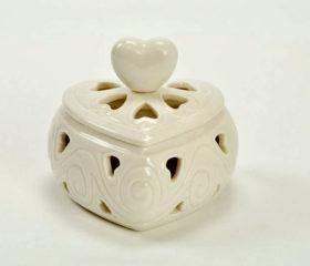 Scatolina Porcellana Cuore (LS4108)